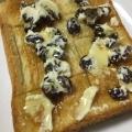 レーズン入りクリームチーズの蜂蜜トースト