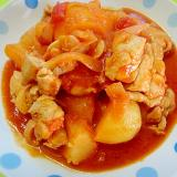 鶏肉とじゃがいものトマト煮