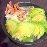 野菜がどんどん進む✳︎フライパンでうま塩鍋風