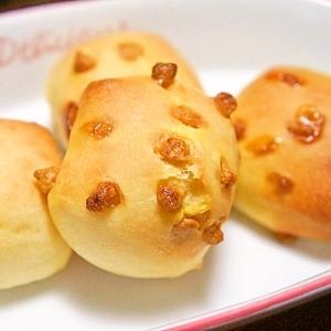 キャラメルチョコチップde一口パン(*ゝω・*)