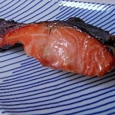 1才からの魚のみそ焼き