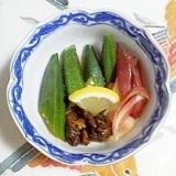 きゅうりのキューちゃんの梅酢和え