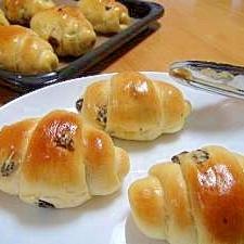 ぶどうのロールパン