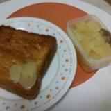 レンジで作る*りんごの砂糖煮