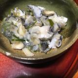 つぶ貝茎ワカメ