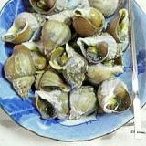 簡単、つぶ貝の赤ワイン煮