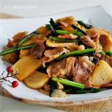 炒めても美味しい♪ カブと豚肉の甘辛炒め