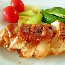 かんたん☆鶏ムネ肉の梅照り焼き☆