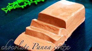 材料4つ混ぜてチョコレートパンナコッタ