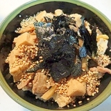 ボリュームがあり美味しい!豚肉牛蒡丼