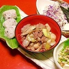 4:3:3ダイエットレシピ☆郷土食でヘルシー膳