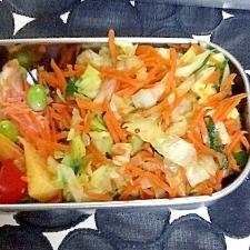 市販のシュウマイで野菜炒めあんかけ