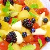 トマトとフルーツの☆バルサミィアップル・ポンチ