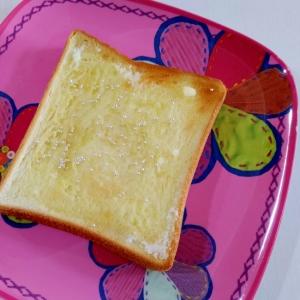 おやつトースト☆アラザンシュガートースト