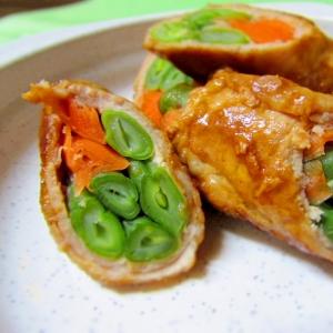 たっぷり野菜の豚肉ロール