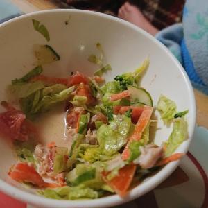 簡単子供サラダ