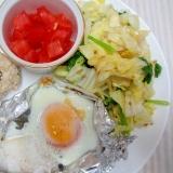 タラと卵のホイル焼きダイエットワンプレート