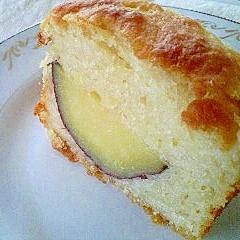 天然酵母入りのヘルシーさつまいもケーキ