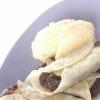 あずきとバナナのデザート餃子