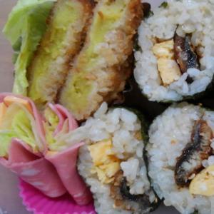 うなぎの巻き寿司弁当