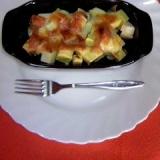 さつま芋とりんごとチーズ
