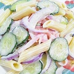 ペンネのサラダ