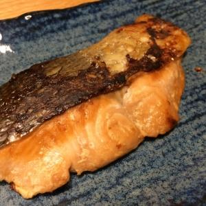 秋鮭の味噌漬け