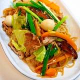 野菜がたっぷりで絶品!上海風焼きそば