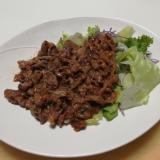 牛バラ肉のプルコギ風焼肉