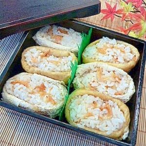 きつねと、たぬきの化かし合い★「いなり寿司」