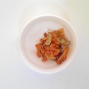 キャベツと納豆のキムチ和え 12