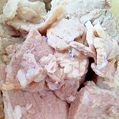 豚モモ肉の塩麹煮