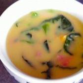 簡単☆ベーコンとほうれん草のコーンクリームスープ♪