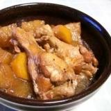 圧力鍋で鶏手羽元も簡単柔らか煮♪
