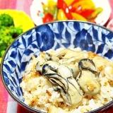 麺つゆで簡単!美味しい★牡蠣めし