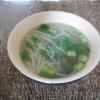 もやしの生姜スープ