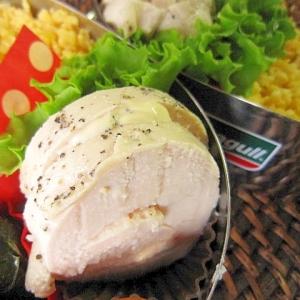 お弁当おかず☆定番鶏ハムの蜂蜜レモン風味