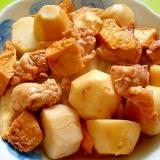里芋と厚揚げ鶏肉の煮物