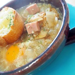 アサリのアホスープ