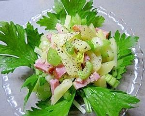 レンジでチン!ベーコンのジャガイモサラダ