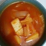 【簡単】冷蔵庫にあるもので!トマトスープ