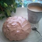 糖質制限★簡単チョコ生風★おからレンジケーキ