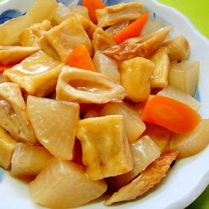 大根と高野豆腐ちくわの煮物