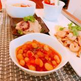 旨味たっぷり♪大豆のトマト煮