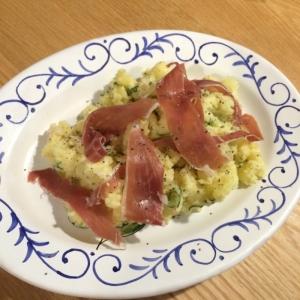イタリアの生ハムで大人のポテトサラダ