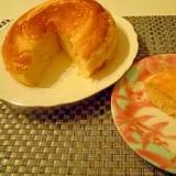 炊飯器で二度美味しいチーズスフレケーキ