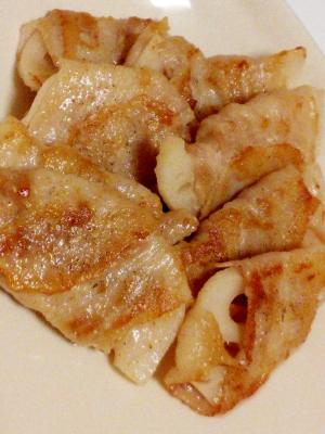 簡単♪お弁当やおつまみに♪レンコンの豚バラ肉巻き