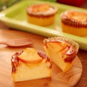 簡単バスチー風☆アップルチーズケーキ