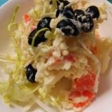 蒸し黒豆とポテトのサラダ