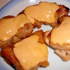 鶏もも肉のチーズソテー